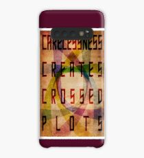 Careless Creates Crossed Plots Case/Skin for Samsung Galaxy