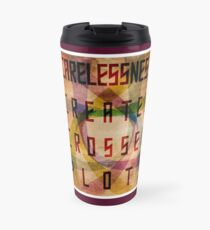 Careless Creates Crossed Plots Travel Mug