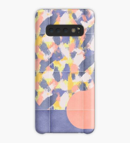 Messy Painted Tiles 03 #redbubble #midmod Case/Skin for Samsung Galaxy
