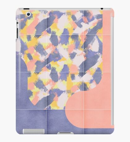 Messy Painted Tiles 03 #redbubble #midmod iPad Case/Skin