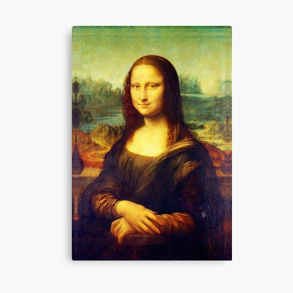 Mona Lisa by Leonardo da Vinci Canvas Print