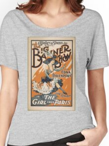 The Girl From Paris Women's Relaxed Fit T-Shirt