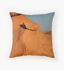 Negev. Throw Pillow