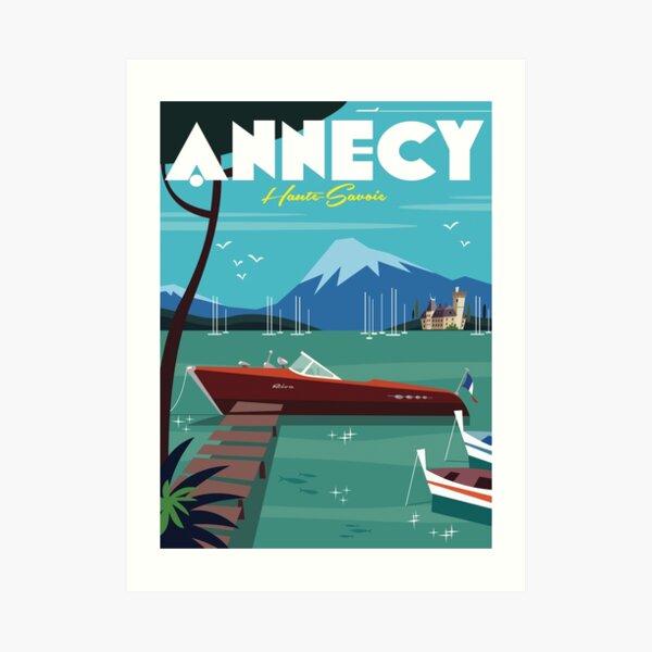 Annecy Poster Art Print