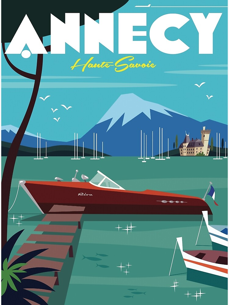 Annecy Poster by GAGodel