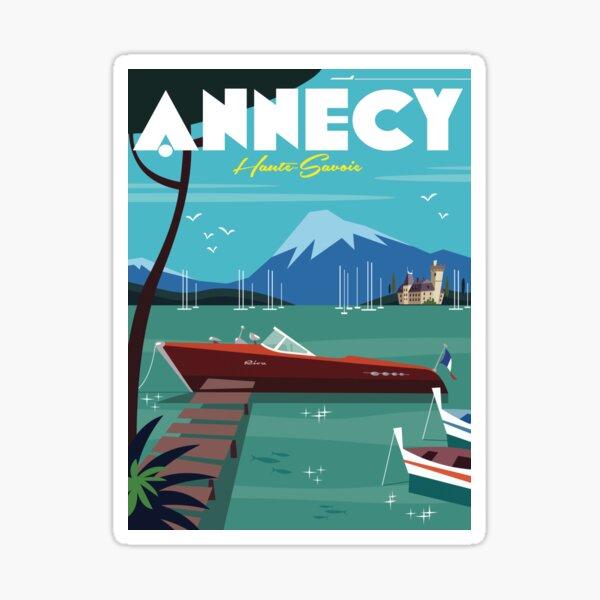 Annecy Poster Sticker