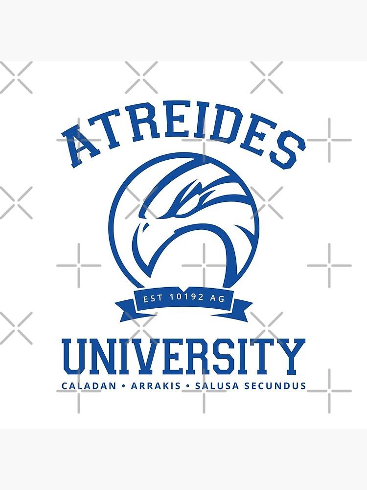 Atreides University   Blue by boxsmash