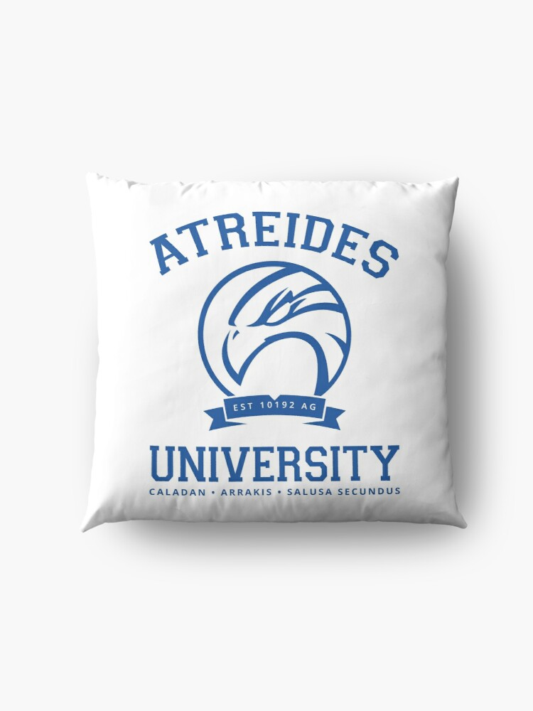 Alternate view of Atreides University | Blue Floor Pillow