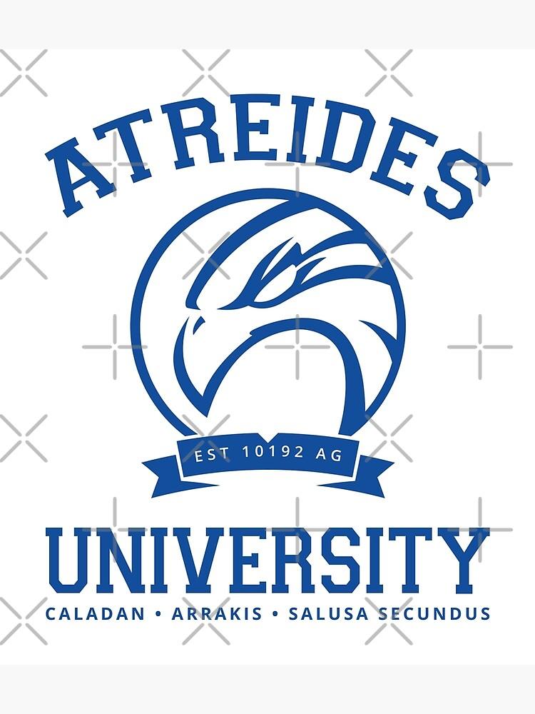 Atreides University | Blue by boxsmash