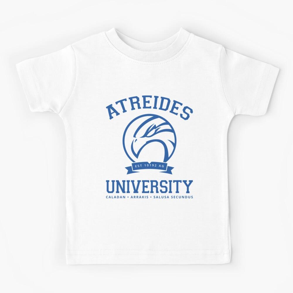 Atreides University   Blue Kids T-Shirt