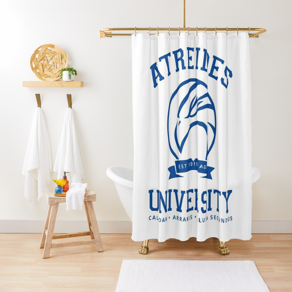 Atreides University | Blue Shower Curtain