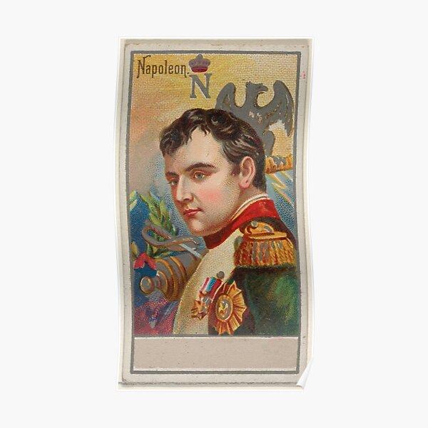 Illustration Portrait Vintage Napoléon Bonaparte (1888) Poster