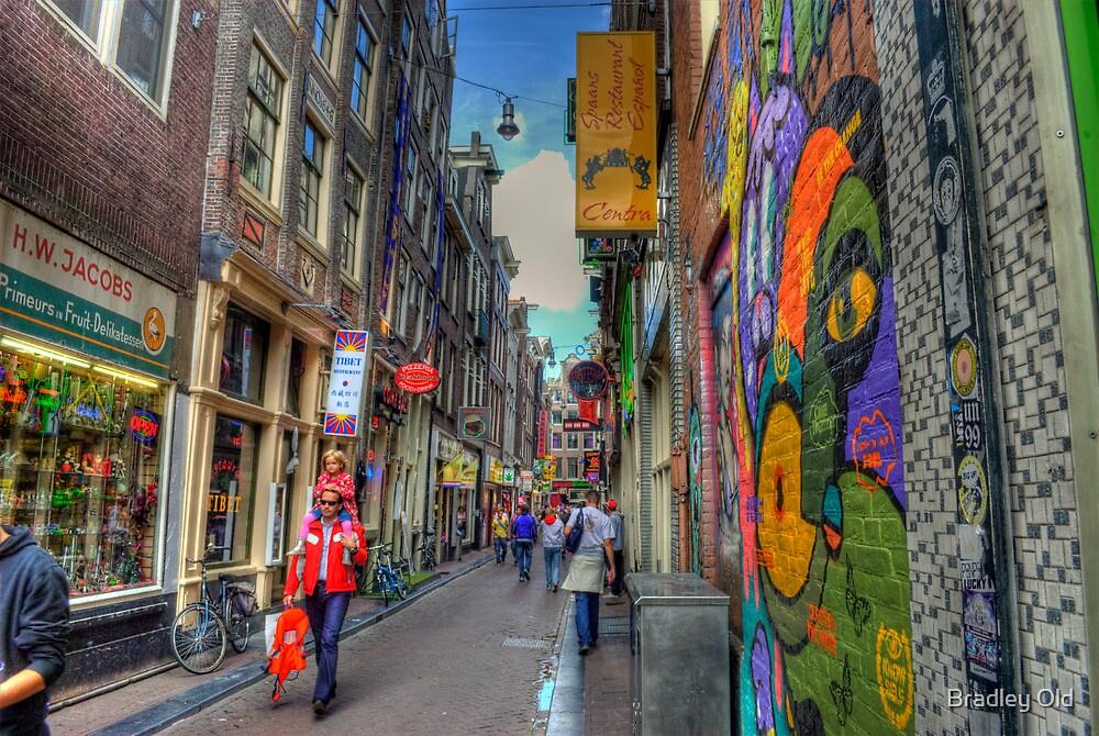 Graffiti Alley by Bradley Old
