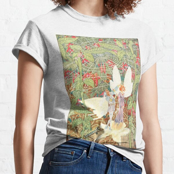 Vintage Thumbelina Book Illustration (1914) Classic T-Shirt