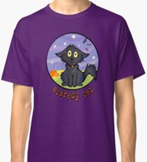 Scaredy Cat - Spooky Halloween Shirts & Stickers Classic T-Shirt