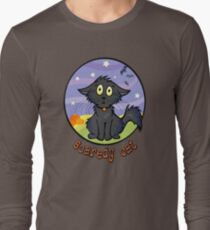 Scaredy Cat - Spooky Halloween Shirts & Stickers Long Sleeve T-Shirt