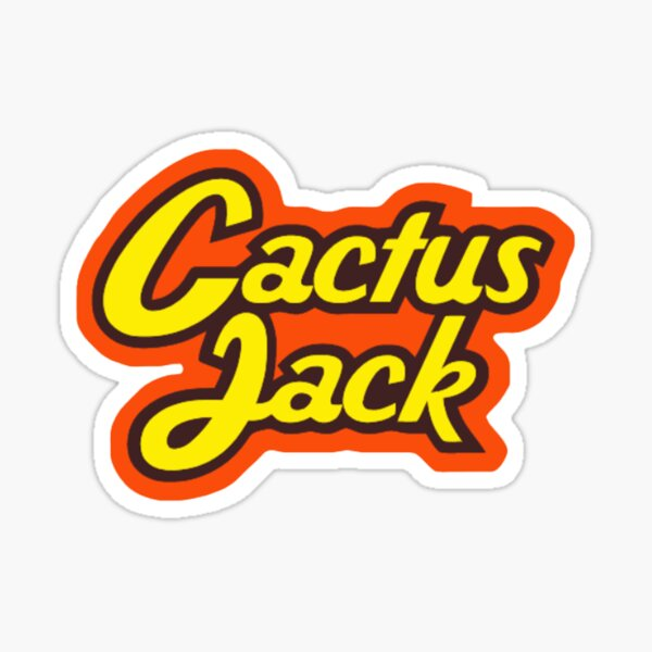 Travis Scott Cactus Jack  Sticker