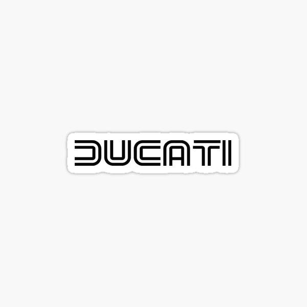ducati ancien logo Sticker