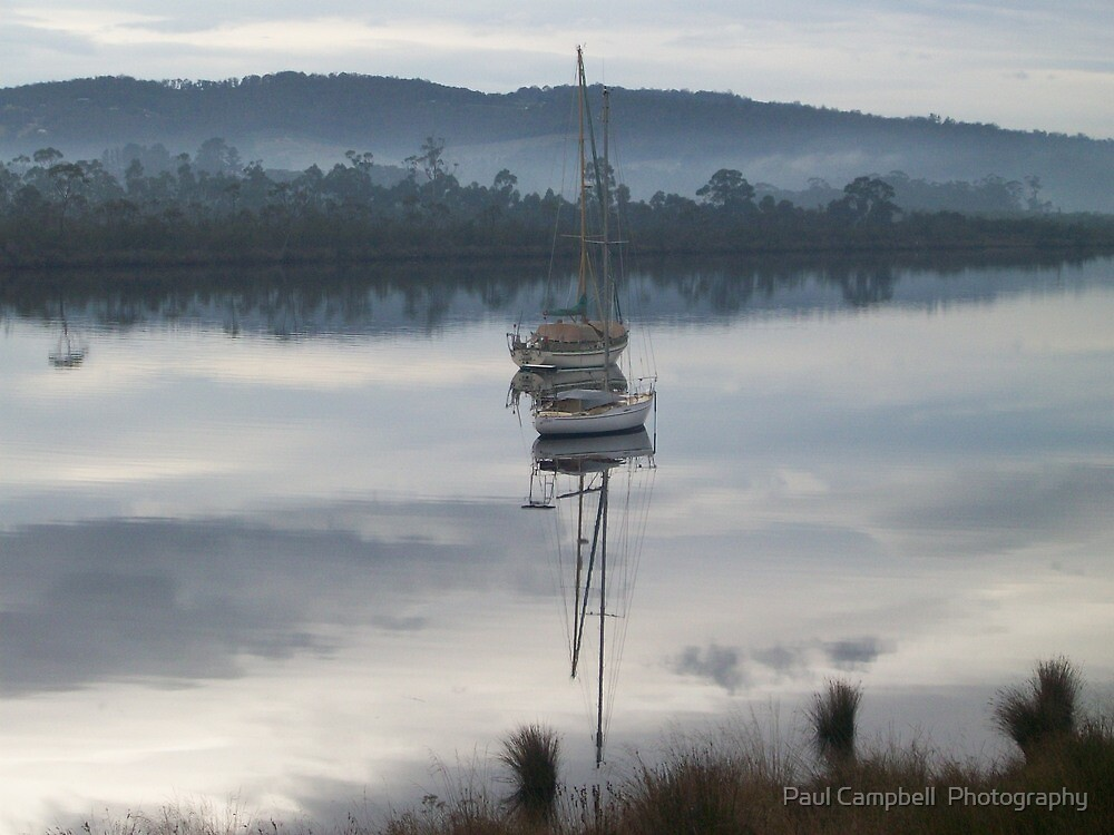 Houn Reflection by Paul Campbell  Photography