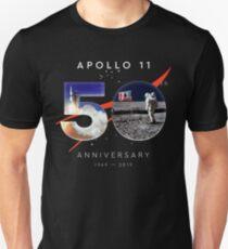 Camiseta ajustada Apolo 11 50 Aniversario 1969-2019 NASA Aterrizaje de la Luna