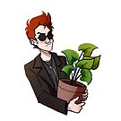 Good omens Crowley by iampompeii