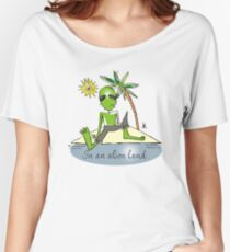 land ho Women's Relaxed Fit T-Shirt