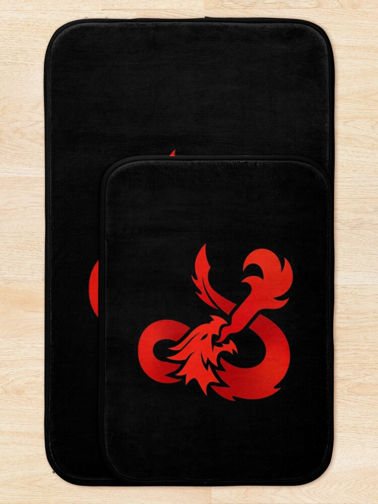 Alternate view of Dungeons & Dragons Bath Mat