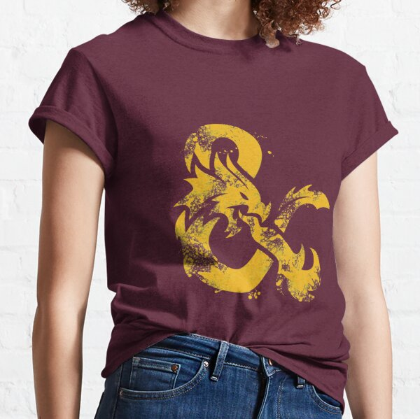 Dungeons and Dragons (Yellow) Classic T-Shirt