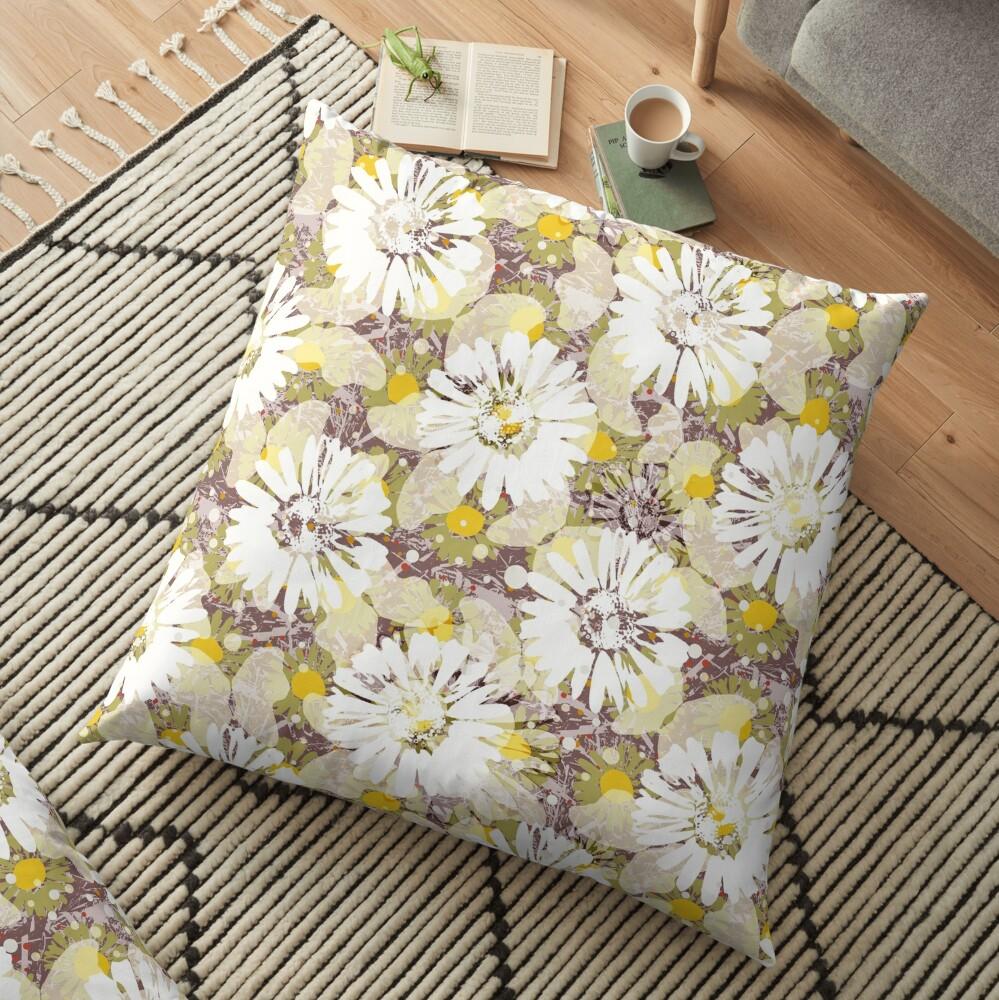 Pop Butterflies VIII Floor Pillow