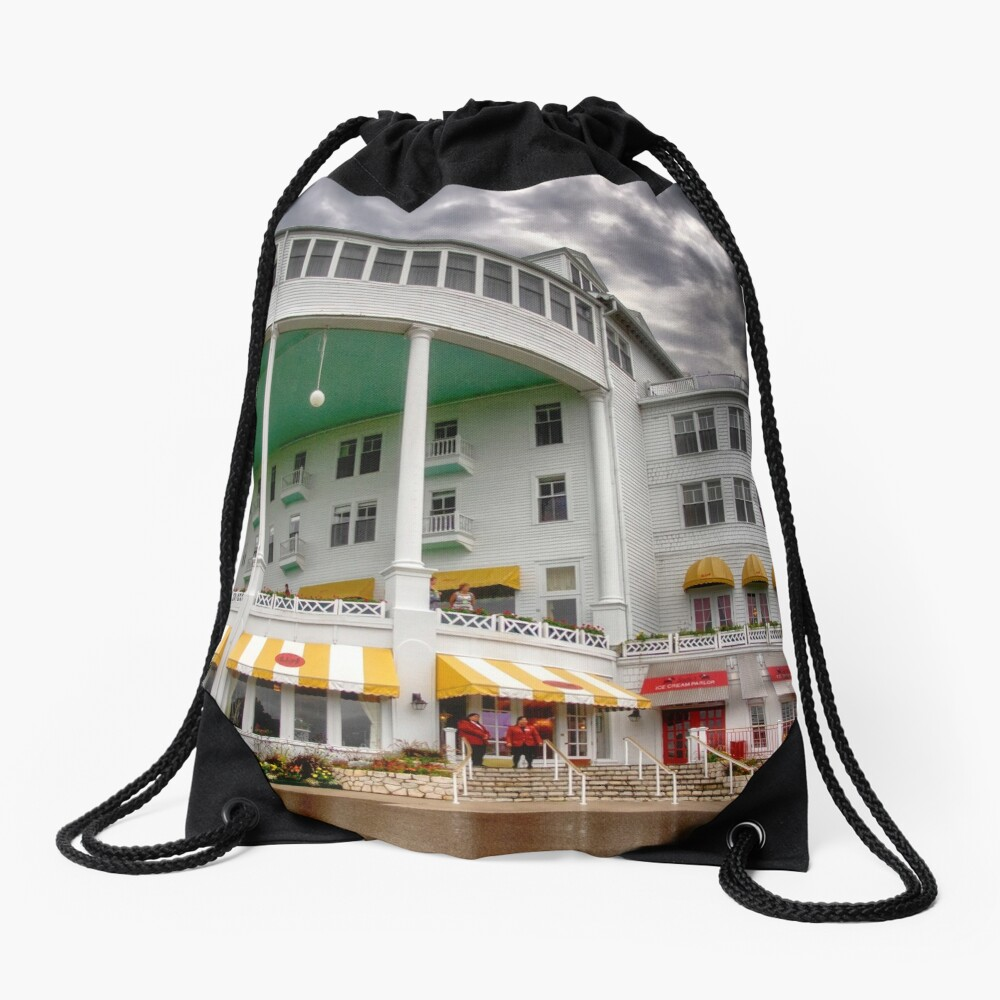 The Grand Hotel 2 Drawstring Bag