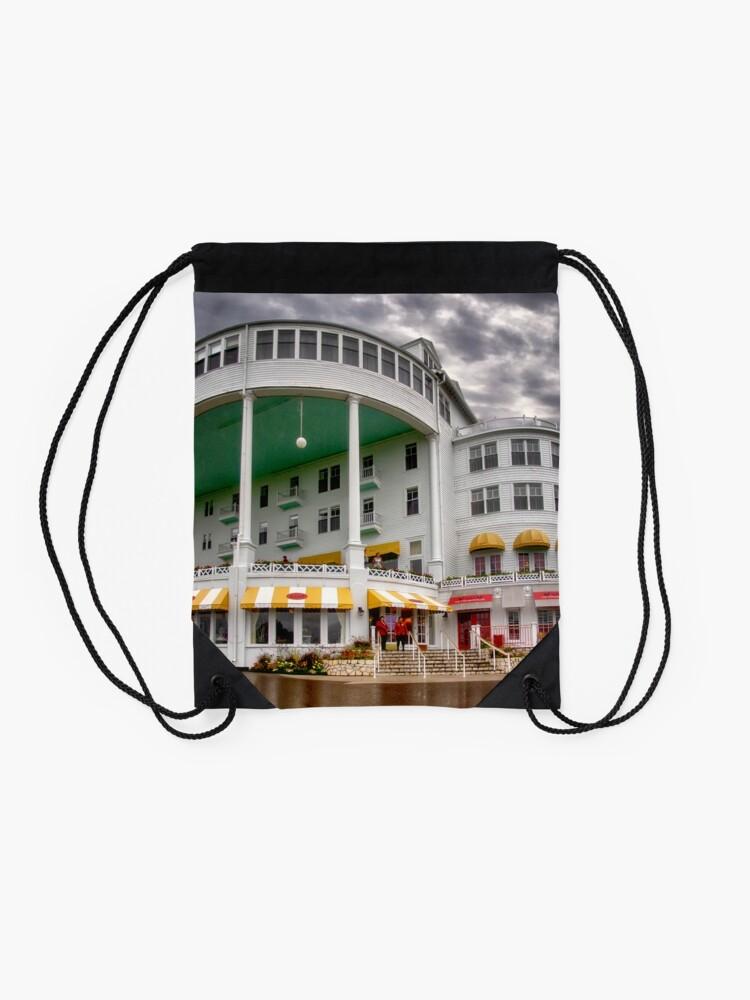 Alternate view of The Grand Hotel 2 Drawstring Bag
