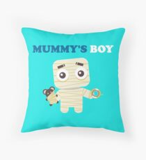 MUMMY´S BOY Throw Pillow