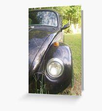 69 Volkswagen Beetle Greeting Card