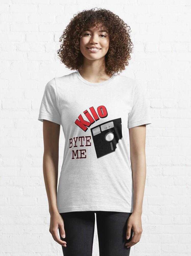 Alternate view of Kilo Byte Me Essential T-Shirt