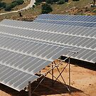 Solar energy bank, Tilos island by David Fowler