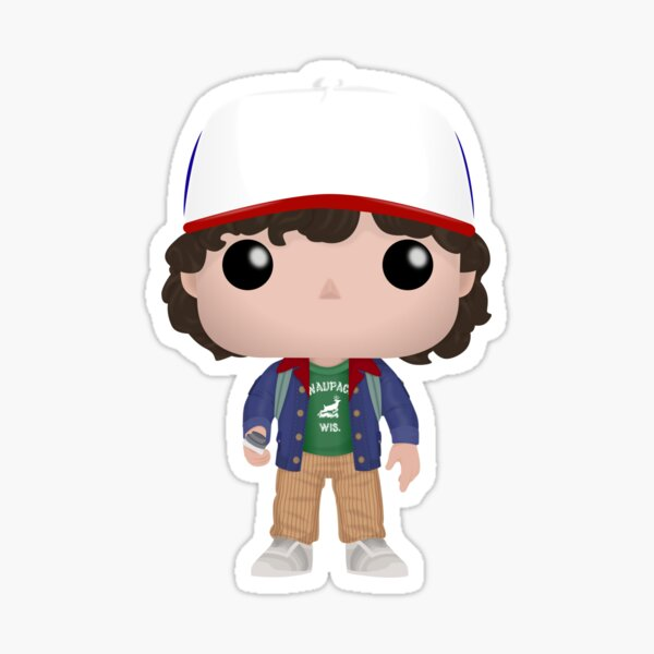 Dustin Funko Sticker