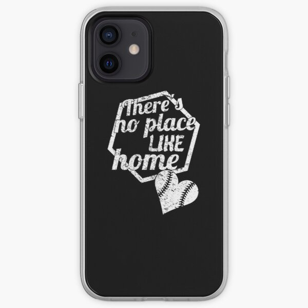 Theres No Place Like Home |Funny|Baseball|Sports| iPhone Soft Case