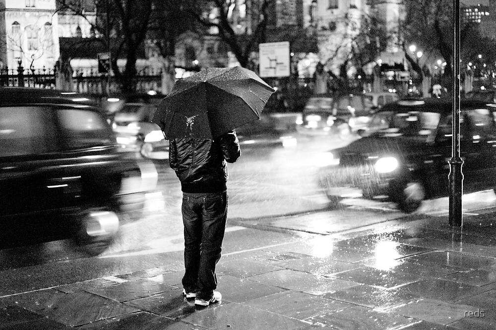 Rainy Night in Westminster by reds