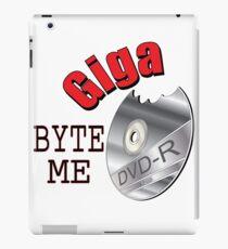 Giga Byte Me iPad Case/Skin