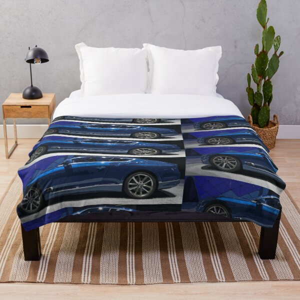 Bentley Continental GT Throw Blanket