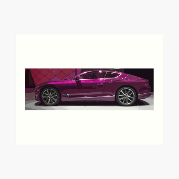 Bentley Continental GT Art Print
