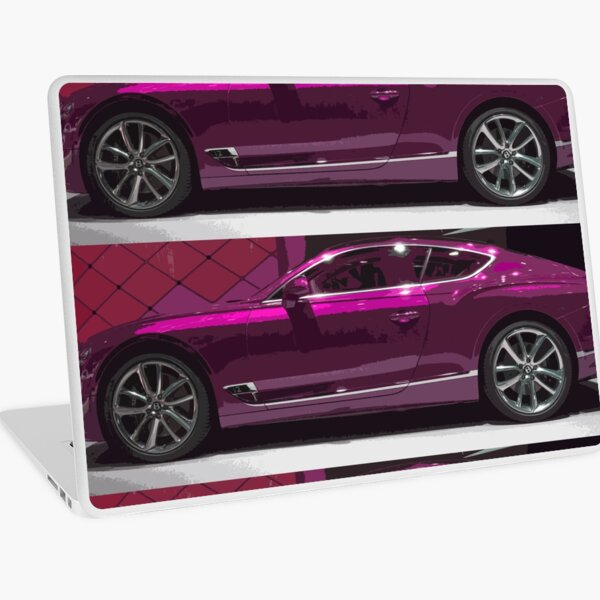 Bentley Continental GT Laptop Skin