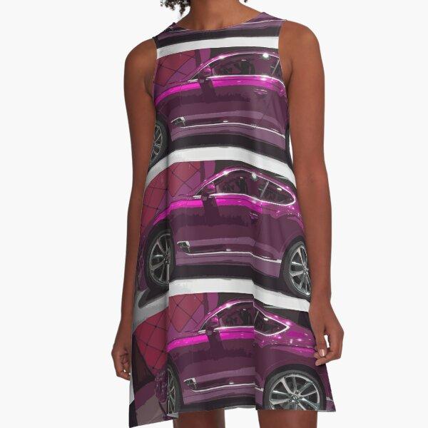 Bentley Continental GT A-Line Dress