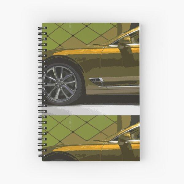 Bentley Continental GT Spiral Notebook