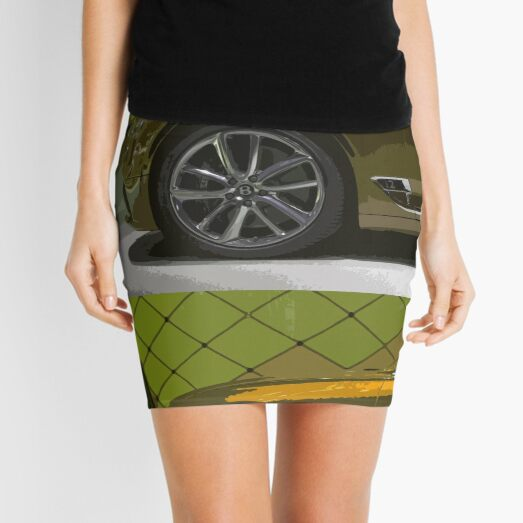 Bentley Continental GT Mini Skirt