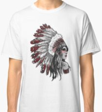 Red Indian - Color  Classic T-Shirt