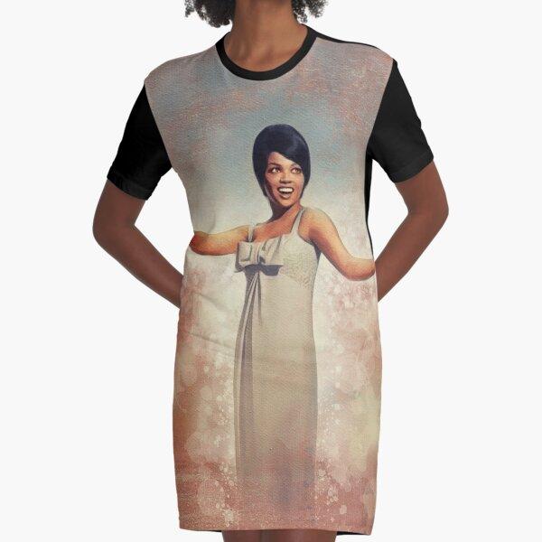 Tammi Terrell, Music Legend Graphic T-Shirt Dress