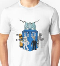 doctor who daleks cyberman silence tardis T-Shirt