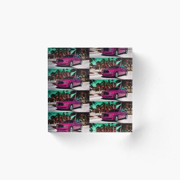 Bentley Mulsanne Acrylic Block