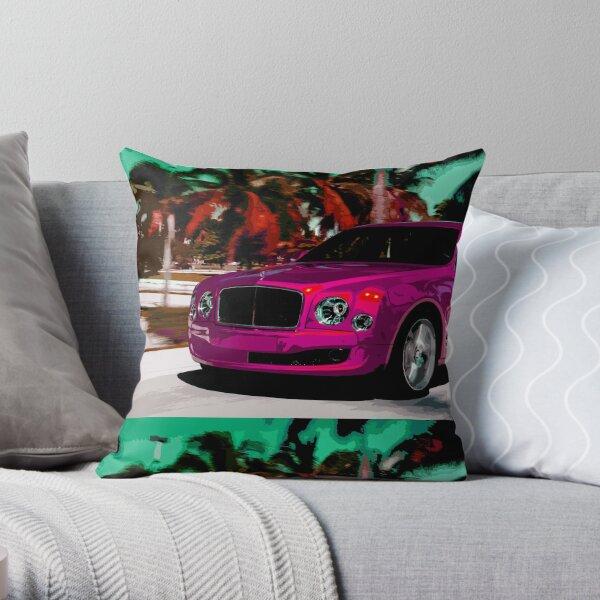 Bentley Mulsanne Throw Pillow